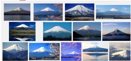 Google images Mount Fuji